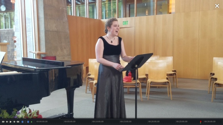 Kate recital 1